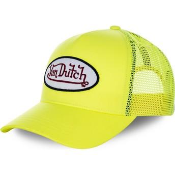 Von Dutch FRESH05 Trucker Cap gelb