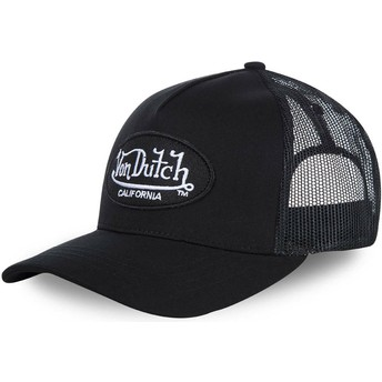 Casquette trucker noire LOFB Von Dutch