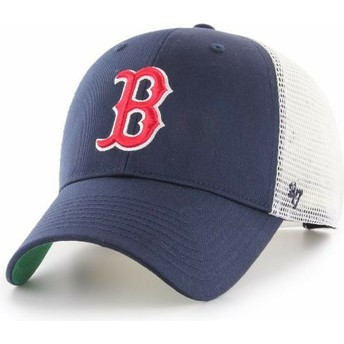 47 Brand Boston Red Sox MLB MVP Branson Trucker Cap marineblau