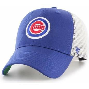 Casquette trucker bleue Chicago Cubs MLB MVP Branson 47 Brand