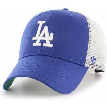Casquette trucker bleue Los Angeles Dodgers MLB MVP Branson 47 Brand