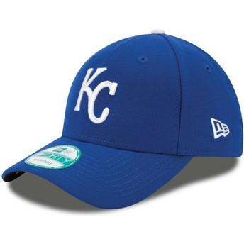 Casquette courbée bleue ajustable 9FORTY The League Kansas City Royals MLB New Era