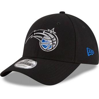 Casquette courbée noire ajustable 9FORTY The League Orlando Magic NBA New Era