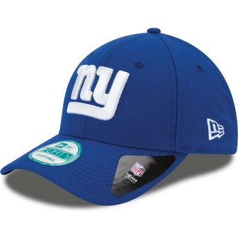 Casquette courbée bleue ajustable 9FORTY The League New York Giants NFL New Era