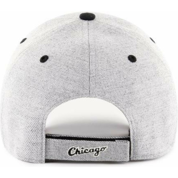 casquette-courbee-grise-ajustable-chicago-white-sox-mlb-mvp-storm-cloud-47-brand