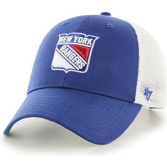 47 Brand New York Rangers NHL MVP Branson Trucker Cap blau