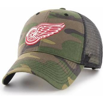Casquette trucker camouflage Detroit Red Wings NHL MVP Branson 47 Brand