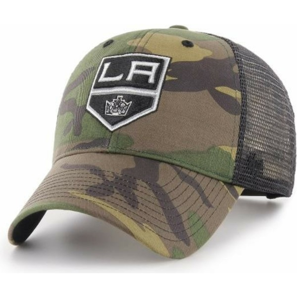 casquette-trucker-camouflage-los-angeles-kings-nhl-mvp-branson-47-brand