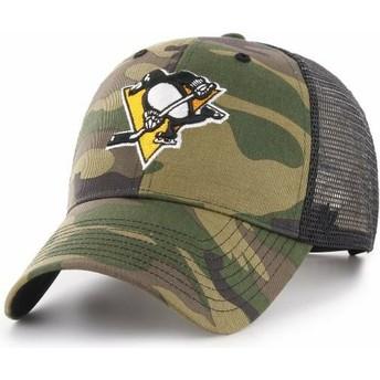 47 Brand Pittsburgh Penguins NHL MVP Branson Trucker Cap camo