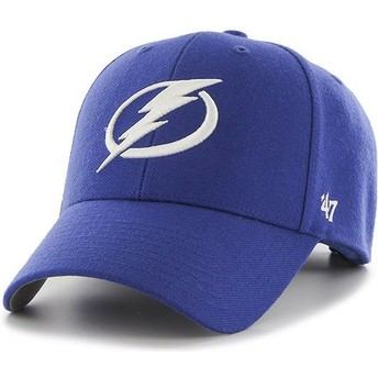 47 Brand Curved Brim Tampa Bay Lightning NHL MVP Cap blau