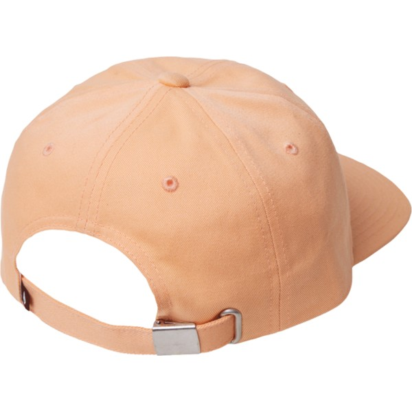 casquette-courbee-orange-ajustable-case-summer-orange-volcom