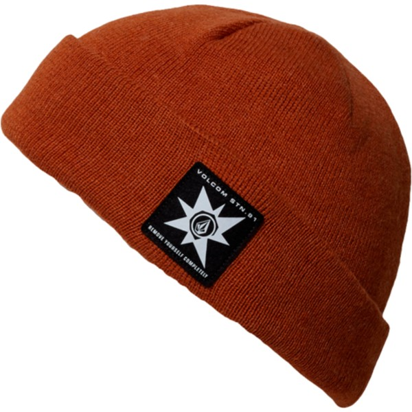 bonnet-marron-ap-hazelnut-volcom