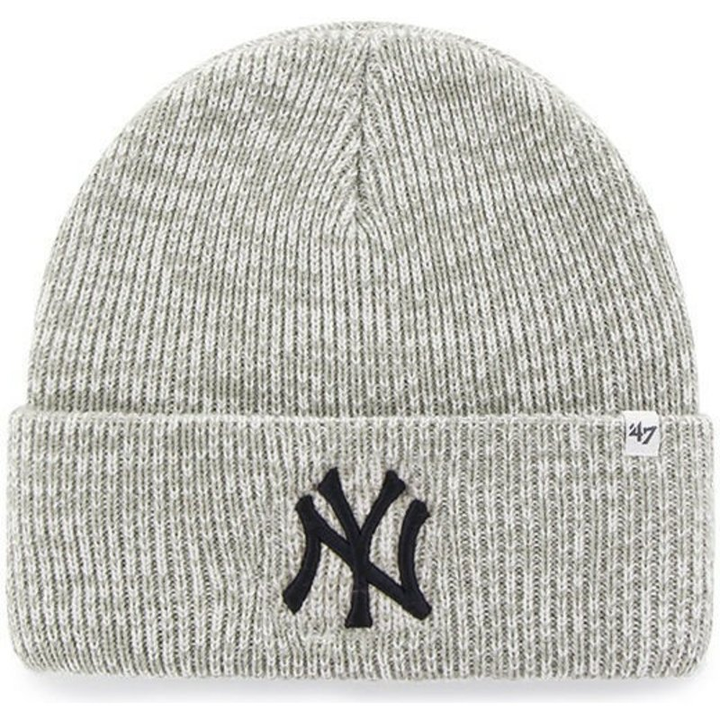 bonnet-gris-new-york-yankees-mlb-cuff-knit-brain-freeze-47-brand