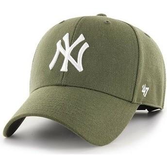 47 Brand Curved Brim New York Yankees MLB MVP Cap braun