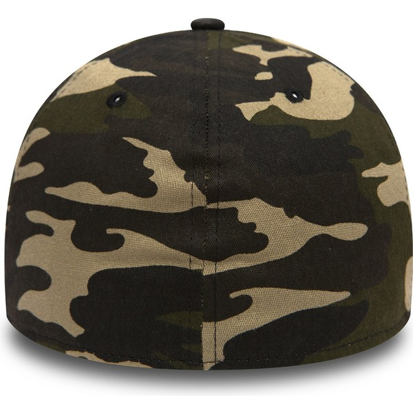casquette-courbee-camouflage-ajustee-avec-logo-noir-39thirty-essential-los-angeles-dodgers-mlb-new-era
