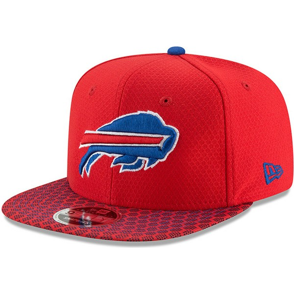 casquette-plate-rouge-snapback-9fifty-sideline-buffalo-bills-nfl-new-era