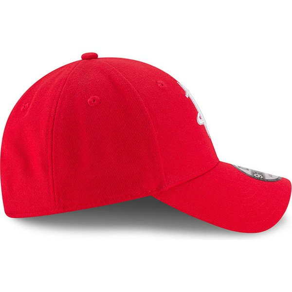 casquette-courbee-rouge-ajustable-9forty-the-league-houston-rockets-nba-new-era