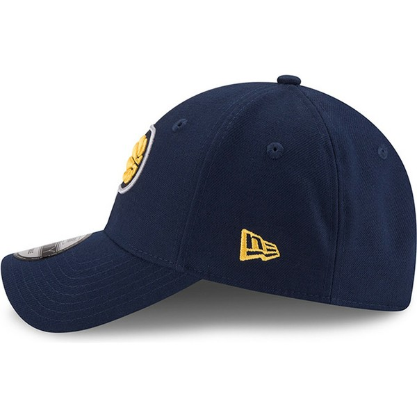 casquette-courbee-bleue-ajustable-9forty-the-league-indiana-pacers-nba-new-era
