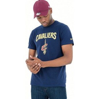 New Era Cleveland Cavaliers NBA T-Shirt blau