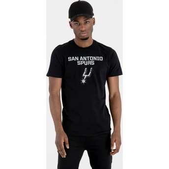New Era San Antonio Spurs NBA T-Shirt schwarz