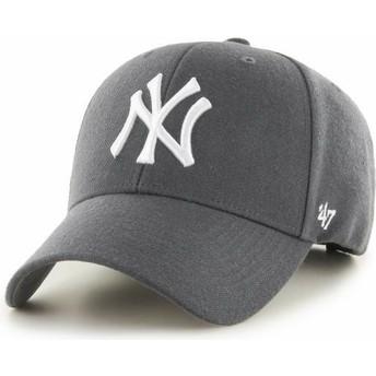 Casquette courbée grise foncé New York Yankees MLB MVP 47 Brand
