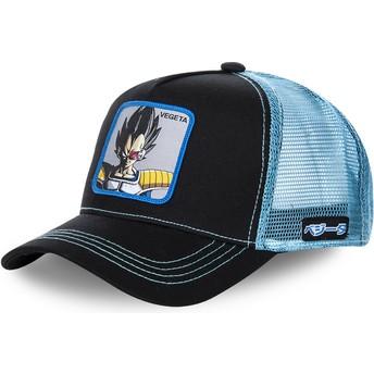 Casquette trucker noire et bleue Vegeta VEGB Dragon Ball Capslab