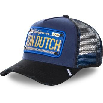 Von Dutch Plate TRUCK15 Trucker Cap marineblau