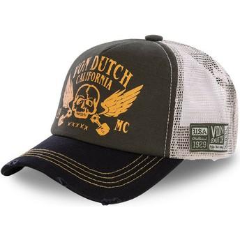 Von Dutch CREW5 Trucker Cap braun und schwarz