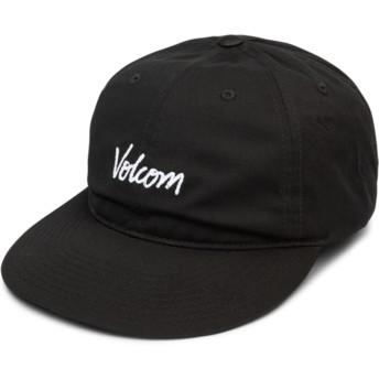 Casquette courbée noire ajustable Volscripto Black Volcom