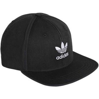 Adidas Flat Brim Trefoil Adicolor Snapback Cap schwarz