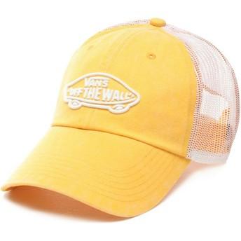 Casquette trucker jaune Acer Vans