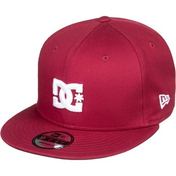 DC Shoes Flat Brim Empire Fielder Snapback Cap braun
