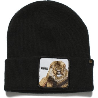 Bonnet noir lion Hear Me Roar Goorin Bros.