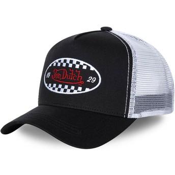 Von Dutch FIN BLA Trucker Cap schwarz und weiß