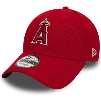 New Era Curved Brim 9FORTY The League Anaheim Angels MLB Adjustable Cap rot
