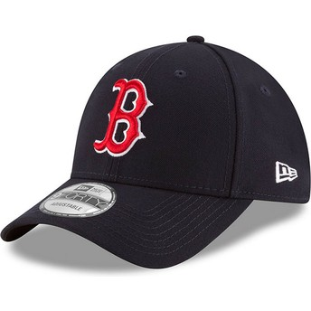 New Era Curved Brim 9FORTY The League Boston Red Sox MLB Adjustable Cap marineblau