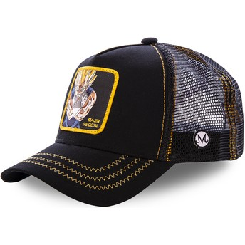 Capslab Majin Vegeta MV2 Dragon Ball Trucker Cap schwarz