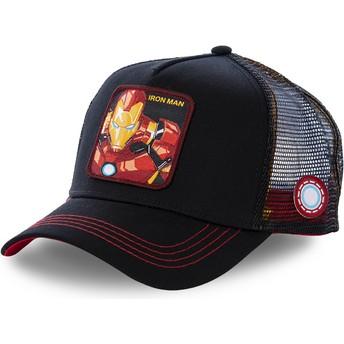 Capslab Iron Man IRO2 Marvel Comics Trucker Cap schwarz