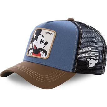 Casquette trucker azul, noire et marron Mickey Mouse MIC1 Disney Capslab