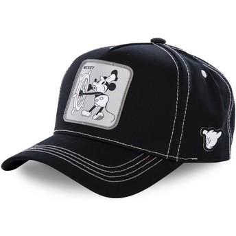 Casquette courbée noire snapback Mickey Mouse Vintage VIN1 Disney Capslab