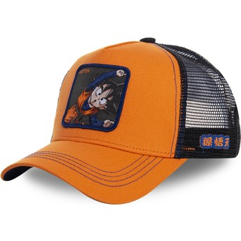 Casquette trucker orange Goten Fusion GTN1 Dragon Ball Capslab