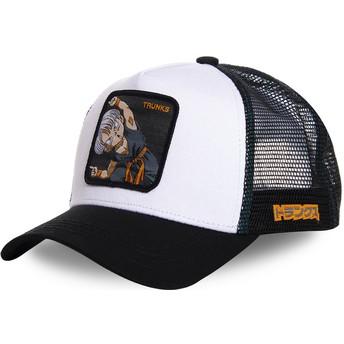 Casquette trucker blanche Trunks Fusion TRK2 Dragon Ball Capslab