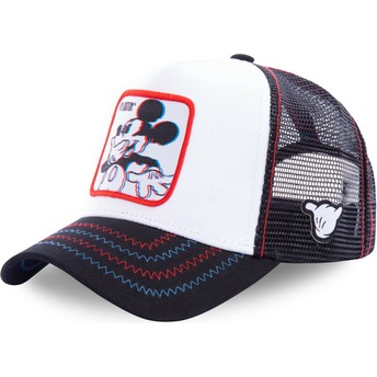 Casquette trucker blanche Mickey Mouse Floatin FLO Disney Capslab