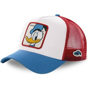 Capslab Donald Duck DUC2 Disney Trucker Cap weiß