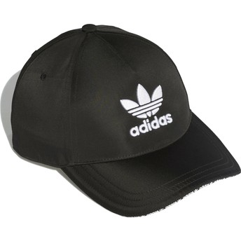 Adidas Curved Brim Trefoil Sandwich Adjustable Cap schwarz