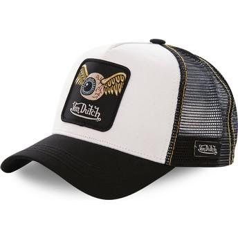 Von Dutch GRN2 Trucker Cap weiß und schwarz