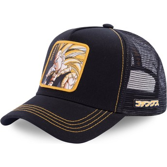 Casquette trucker noire Gotenks Super Saiyan 3 GOT3 Dragon Ball Capslab