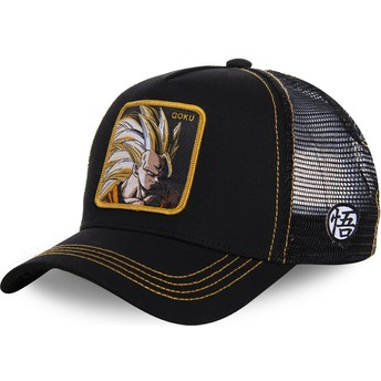 Capslab Son Goku Super Saiyan 3 SAN3 Dragon Ball Trucker Cap schwarz