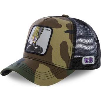 Casquette trucker camouflage Cell CEL Dragon Ball Capslab