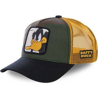 Capslab Daffy Duck DAF4 Looney Tunes Trucker Cap camo